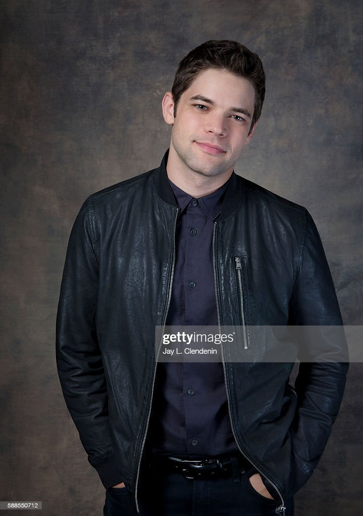 Actor Jeremy Jordan of 'Supergirl' is photographed for Los Angeles Times at San Diego Comic Con on July 22, 2016 in San Diego, California.