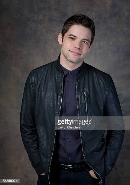 Actor Jeremy Jordan of 'Supergirl' is photographed for Los Angeles Times at San Diego Comic Con on July 22 2016 in San Diego California
