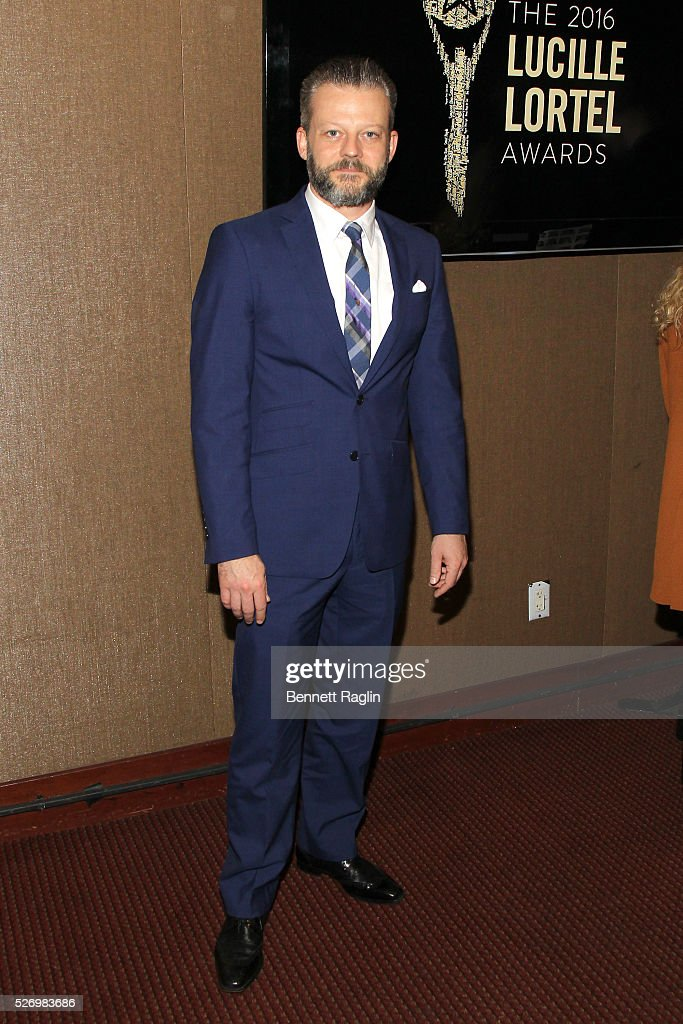 Actor Jeremy Kushnier arrives at the 31st Annual Lucille Lortel Awards at NYU Skirball Center on May 1, 2016 in New York City.