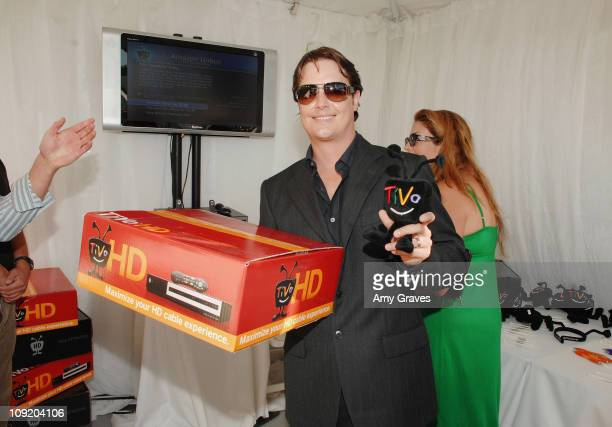 Actor Jeremy London attends Melanie Segal's Annual Platinum Emmy Lounge presented by Sheer Cover Day 2 at the Luxe Hotel on September 14 2007 in...