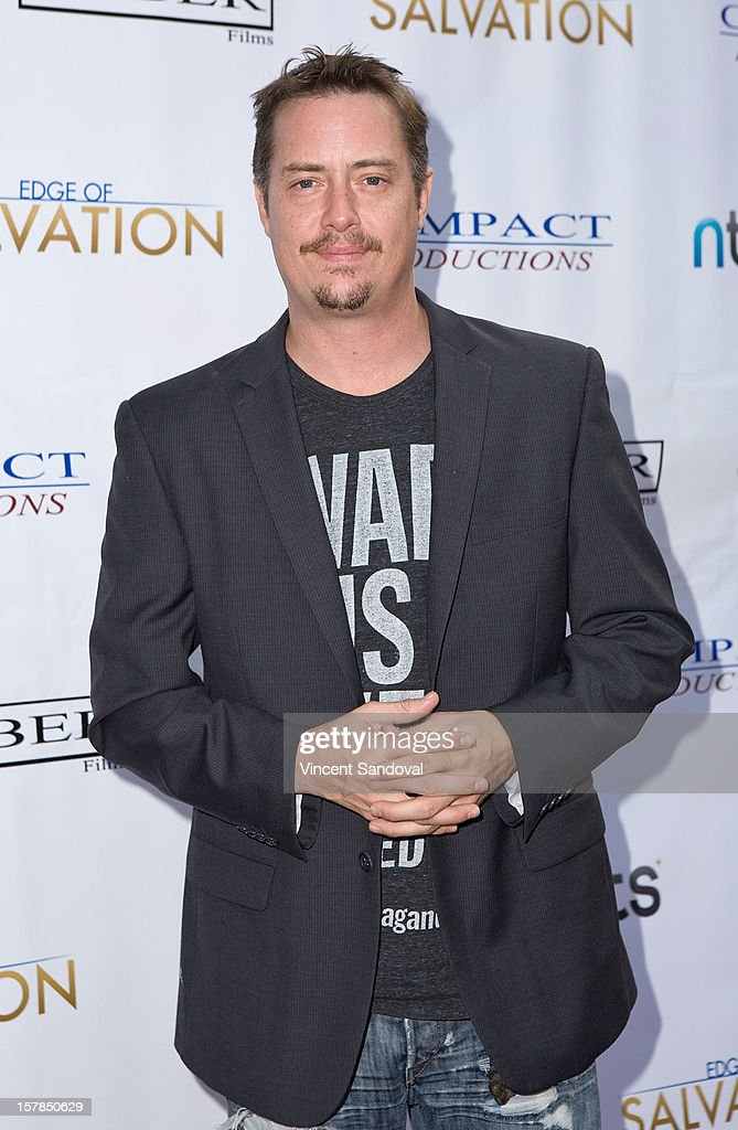 Actor <a gi-track='captionPersonalityLinkClicked' href=/galleries/search?phrase=Jeremy+London&family=editorial&specificpeople=664021 ng-click='$event.stopPropagation()'>Jeremy London</a> attends the Premiere Of 'Edge Of Salvation' at ArcLight Cinemas on December 6, 2012 in Hollywood, California.
