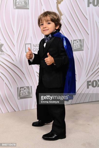 Actor Jeremy Maguire attends FOX Broadcasting Company Twentieth Century Fox Television FX And National Geographic 69th Primetime Emmy Awards After...