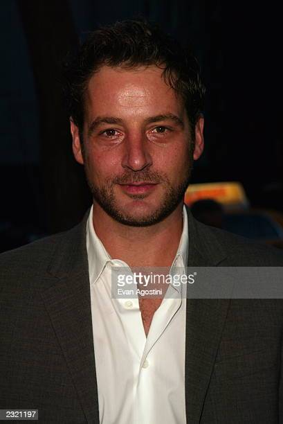 Actor Jeremy Northam arriving at the New York Benefit Premiere of 'Enigma' at the Beekman Theatre in New York City April 11 2002 Photo Evan...