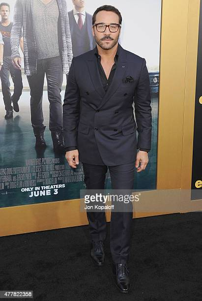 Actor Jeremy Piven arrives at the Los Angeles Premiere 'Entourage' at Regency Village Theatre on June 1 2015 in Westwood California