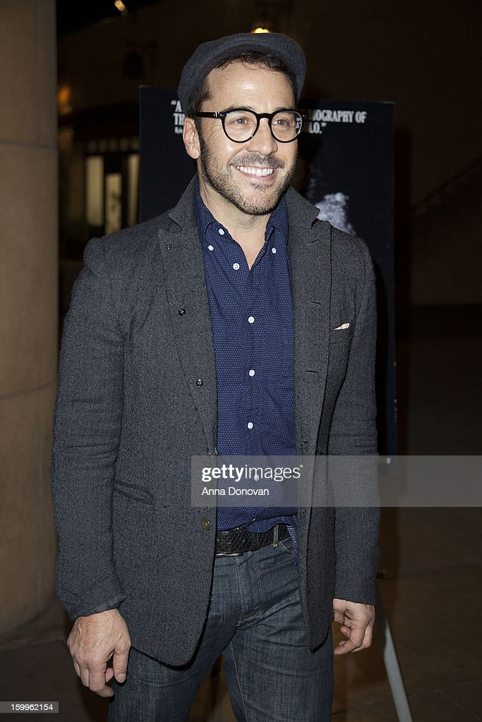 Actor Jeremy Piven attends a special screening of 'Beware Of Mr Baker' at the Egyptian Theatre on January 23 2013 in Hollywood California