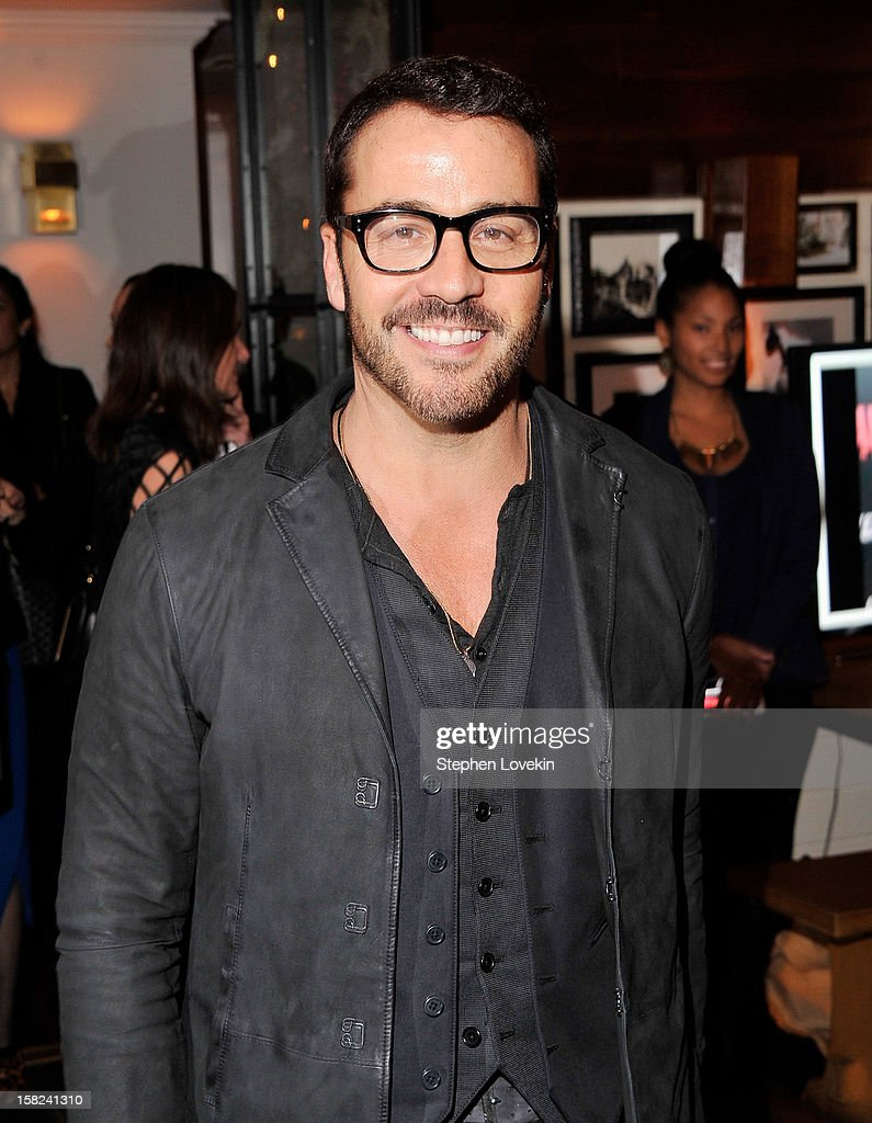 Actor Jeremy Piven attends the after party for a screening 'Django Unchained' hosted by The Weinstein Company With The Hollywood Reporter, Samsung Galaxy And The Cinema Society at The High Line Room in The Standard Hotel on December 11, 2012 in New York City.
