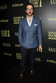 Actor Jeremy Piven attends the Hollywood Foreign Press Association and InStyle's celebration of the 2015 Golden Globe award season at Fig Olive...