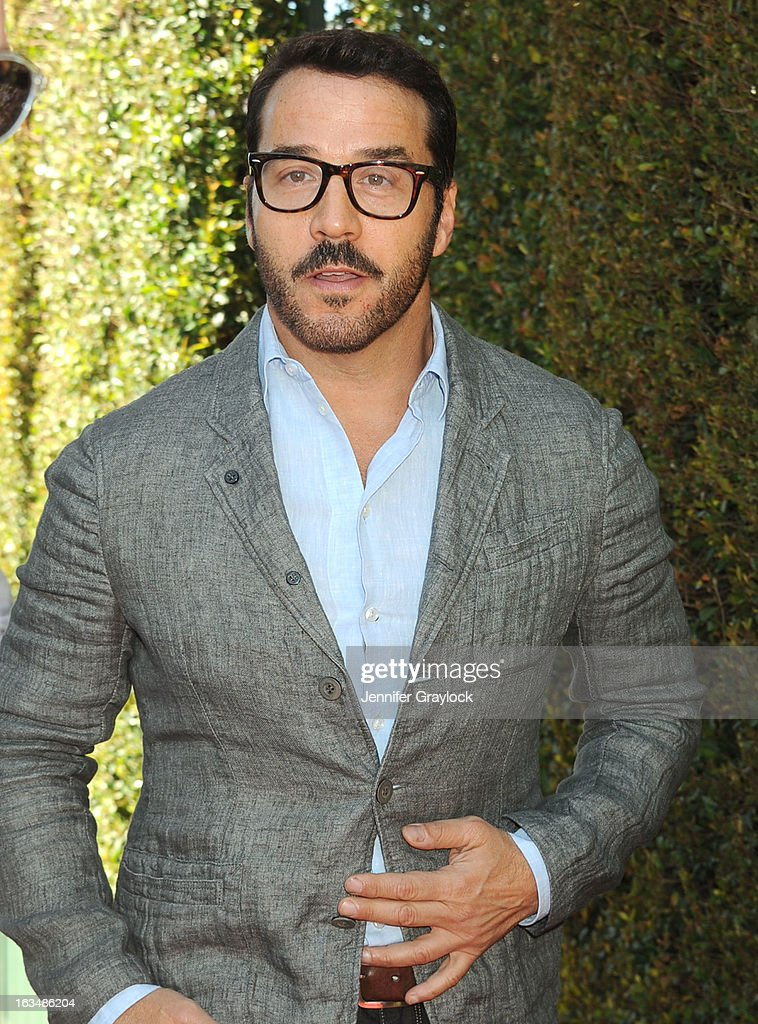 Actor Jeremy Piven attends the John Varvatos 10th Annual Stuart House Benefit held at John Varvatos Los Angeles store on March 10, 2013 in Los Angeles, California.