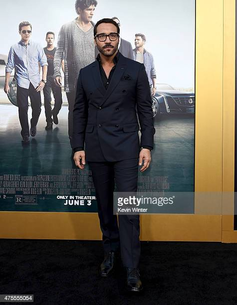 Actor Jeremy Piven attends the premiere of Warner Bros Pictures' 'Entourage' at Regency Village Theatre on June 1 2015 in Westwood California