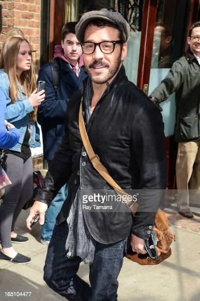 Actor Jeremy Piven leaves his Tribeca hotel on March 29 2013 in New York City