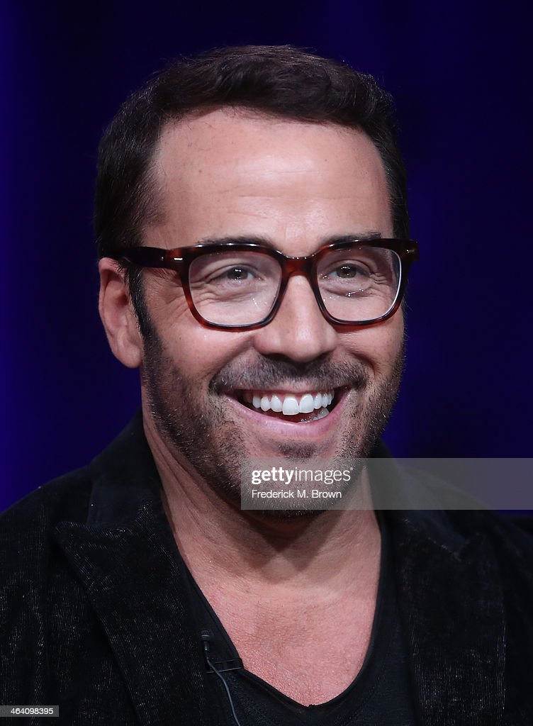Actor <a gi-track='captionPersonalityLinkClicked' href=/galleries/search?phrase=Jeremy+Piven&family=editorial&specificpeople=206338 ng-click='$event.stopPropagation()'>Jeremy Piven</a> speaks onstage during the 'Masterpiece/Mr. Selfridge, Season 2' panel discussion at the PBS portion of the 2014 Winter Television Critics Association tour at Langham Hotel on January 20, 2014 in Pasadena, California.