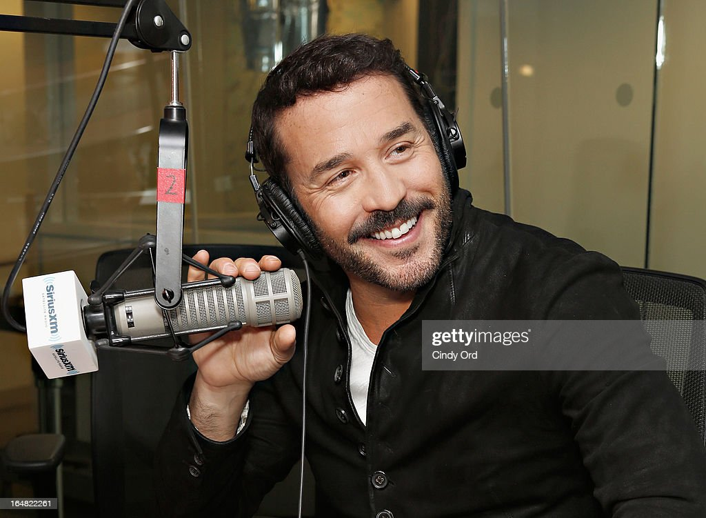 Actor <a gi-track='captionPersonalityLinkClicked' href=/galleries/search?phrase=Jeremy+Piven&family=editorial&specificpeople=206338 ng-click='$event.stopPropagation()'>Jeremy Piven</a> visits the SiriusXM Studios on March 28, 2013 in New York City.