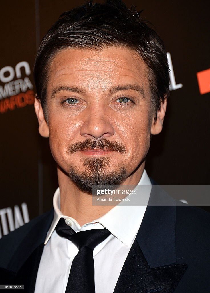 Actor <a gi-track='captionPersonalityLinkClicked' href=/galleries/search?phrase=Jeremy+Renner&family=editorial&specificpeople=708701 ng-click='$event.stopPropagation()'>Jeremy Renner</a> arrives at the 7th Annual Hamilton Behind The Camera Awards at The Wilshire Ebell Theatre on November 10, 2013 in Los Angeles, California.