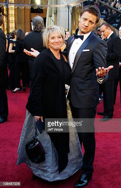 Actor Jeremy Renner arrives at the 83rd Annual Academy Awards held at the Kodak Theatre on February 27 2011 in Hollywood California