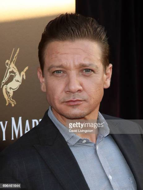 Actor Jeremy Renner attends A Special Evening presented by Remy Martin at Eric Buterbaugh Los Angeles on June 15 2017 in Los Angeles California