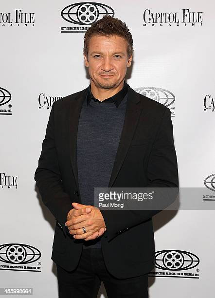 Actor Jeremy Renner attends Capitol File's 'Kill the Messenger' Screening at MPAA on September 23 2014 in Washington DC