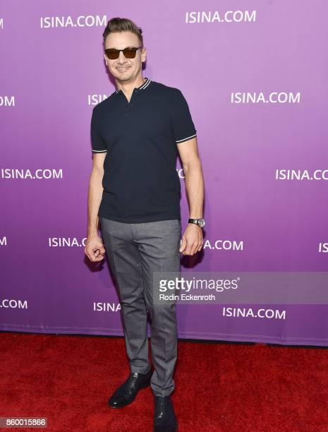 Actor Jeremy Renner attends ISINA Global Gala at Unici Casa on October 10 2017 in Culver City California