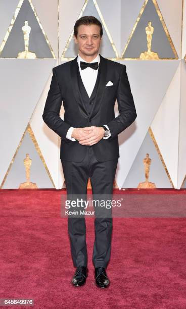 Actor Jeremy Renner attends the 89th Annual Academy Awards at Hollywood Highland Center on February 26 2017 in Hollywood California