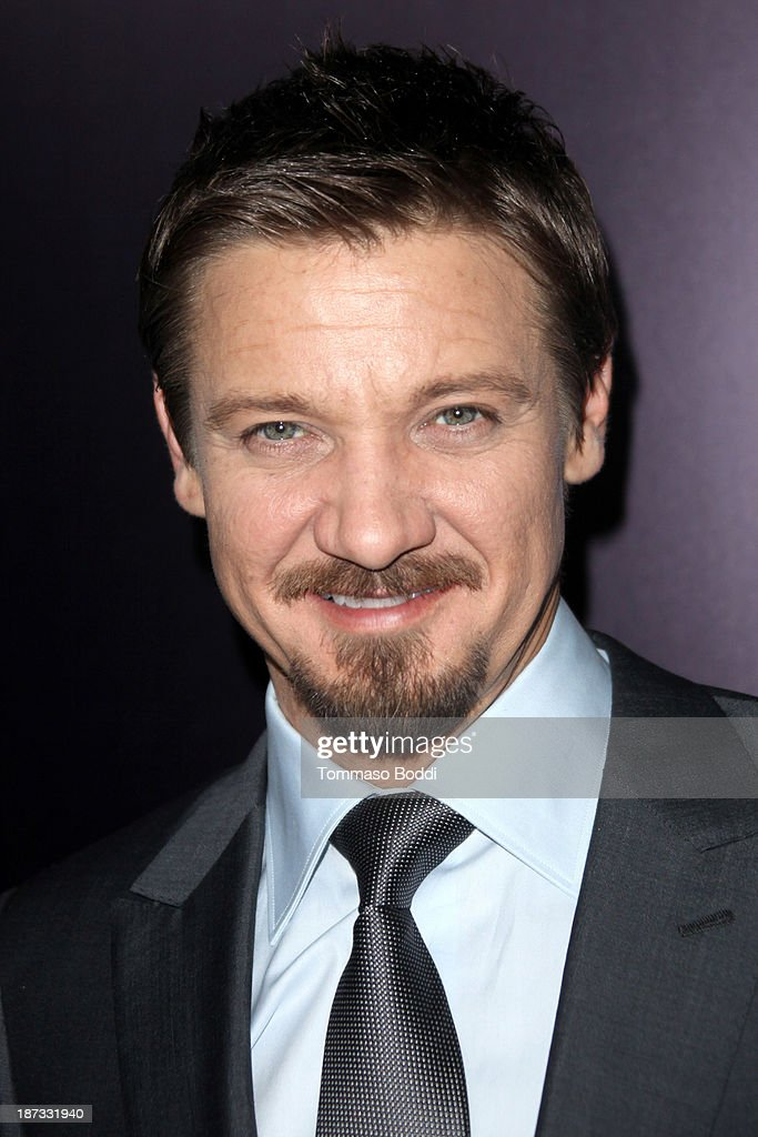 Actor <a gi-track='captionPersonalityLinkClicked' href=/galleries/search?phrase=Jeremy+Renner&family=editorial&specificpeople=708701 ng-click='$event.stopPropagation()'>Jeremy Renner</a> attends the Ermenegildo Zegna boutique Rodeo Drive grand opening held at Ermenegildo Zegna Boutique on November 7, 2013 in Beverly Hills, California.