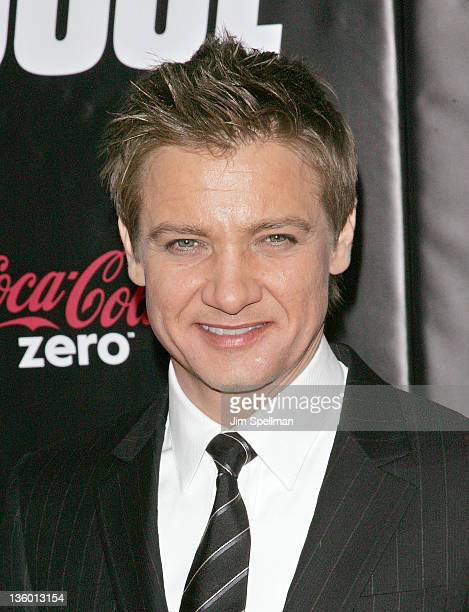 Actor Jeremy Renner attends the 'Mission Impossible Ghost Protocol' US premiere at the Ziegfeld Theatre on December 19 2011 in New York City