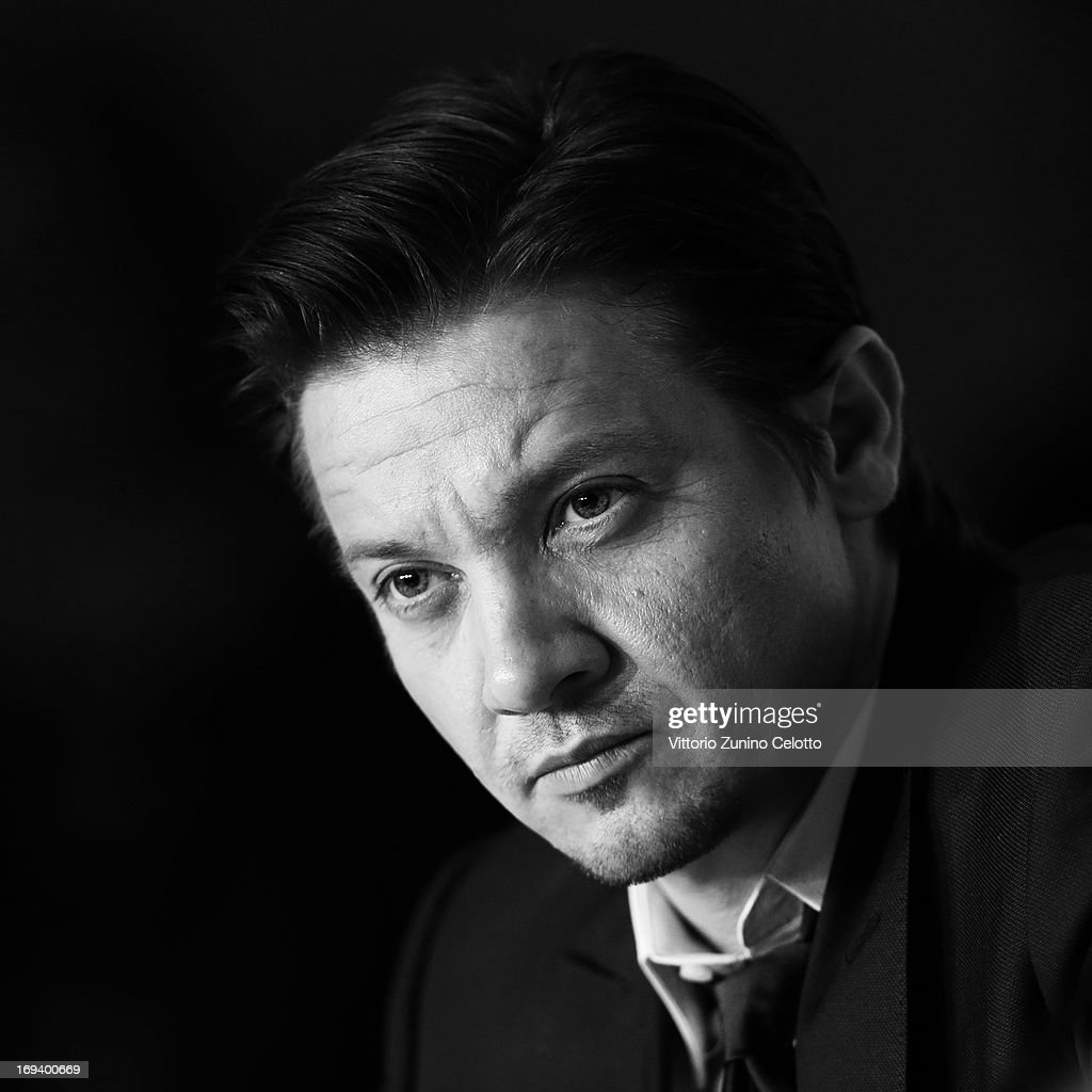 Actor Jeremy Renner attends the press conference for 'The Immigrant' at The 66th Annual Cannes Film Festival at the Palais des Festivals on May 24, 2013 in Cannes, France.