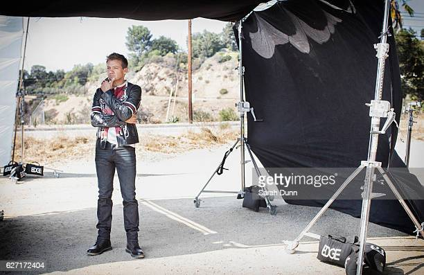 Actor Jeremy Renner is photographed for Legend magazine on August 29 2016 in Los Angeles California