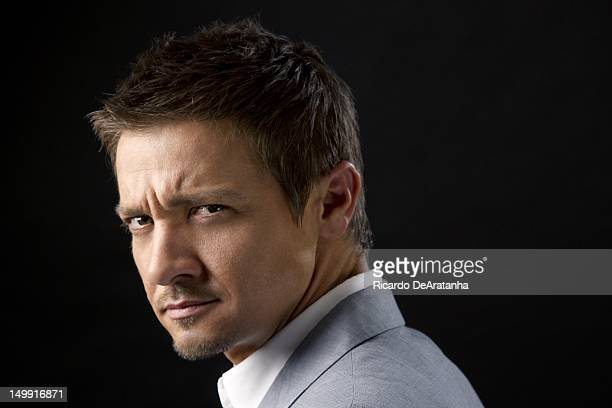 Actor Jeremy Renner is photographed for Los Angeles Times on August 2 2012 in Beverly Hills California PUBLISHED IMAGE CREDIT MUST READ Ricardo...