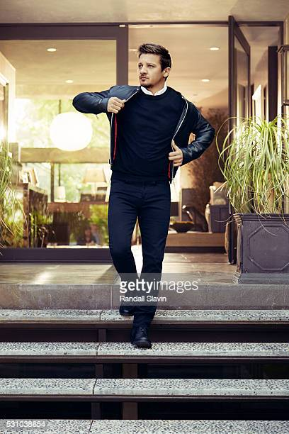 Actor Jeremy Renner is photographed for Robb Report on March 12 2016 in Hollywood California ON DOMESTIC EMBARGO UNTIL AUGUST 1 2016 ON INTERNATIONAL...