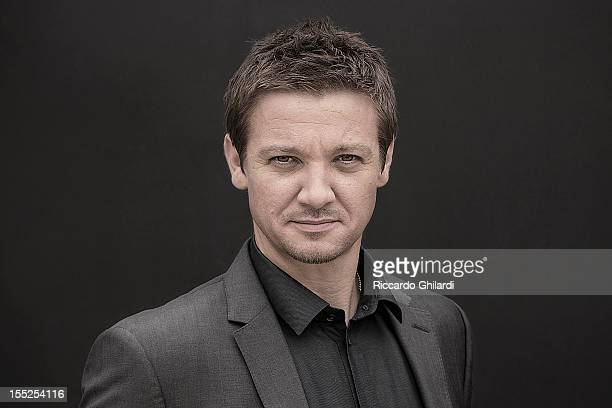 Actor Jeremy Renner is photographed for Self Assignment on August 30 2012 in Venice Italy