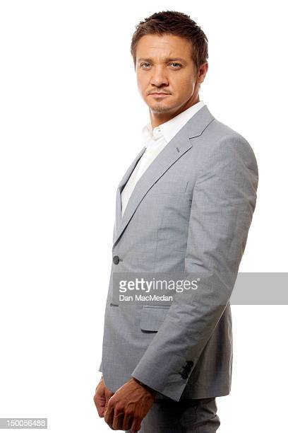 Actor Jeremy Renner is photographed for USA Today on July 20 2012 in Los Angeles California