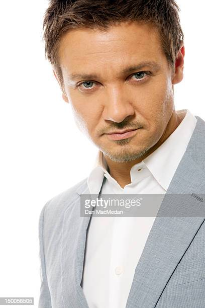 Actor Jeremy Renner is photographed for USA Today on July 20 2012 in Los Angeles California PUBLISHED IMAGE