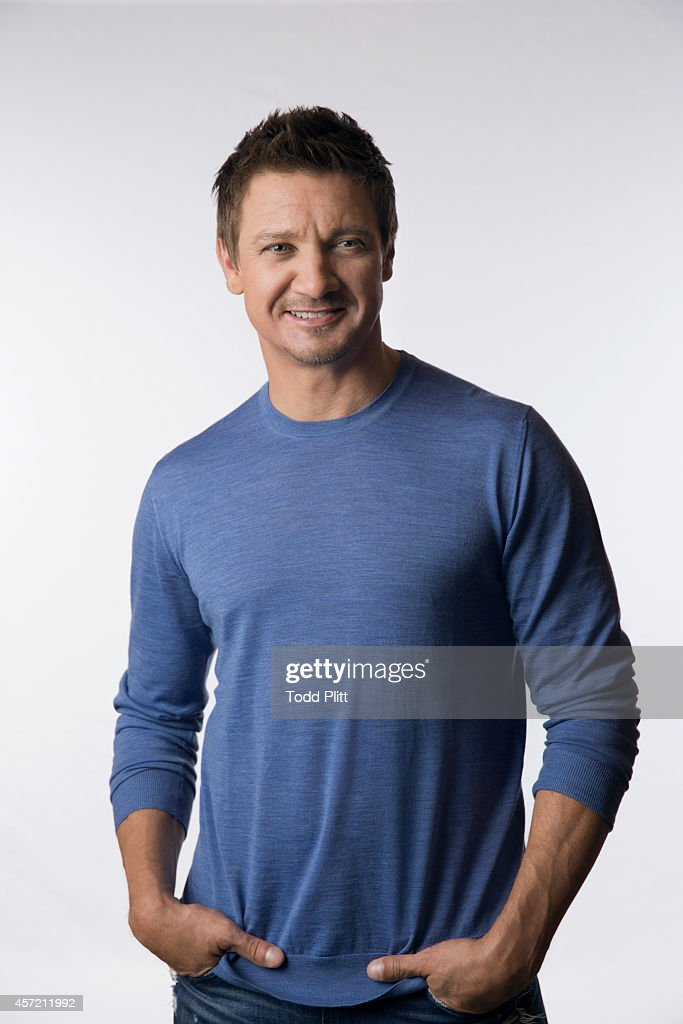 Actor Jeremy Renner is photographed for USA Today on September 22, 2014 in New York City. PUBLISHED