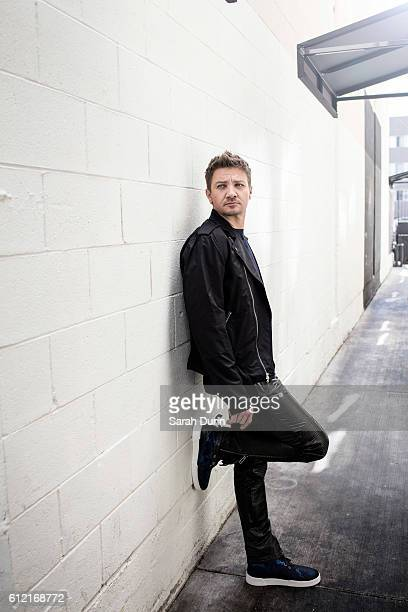 Actor Jeremy Renner is photographed on May 31 2015 in Los Angeles United States