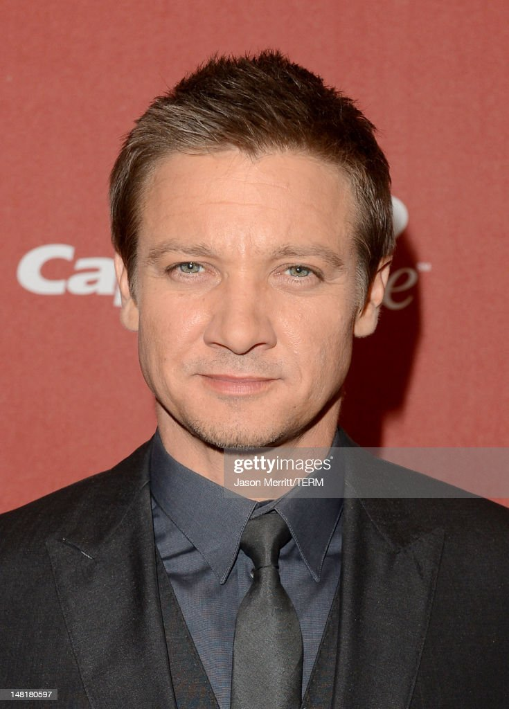 Actor <a gi-track='captionPersonalityLinkClicked' href=/galleries/search?phrase=Jeremy+Renner&family=editorial&specificpeople=708701 ng-click='$event.stopPropagation()'>Jeremy Renner</a> poses backstage during the 2012 ESPY Awards at Nokia Theatre L.A. Live on July 11, 2012 in Los Angeles, California.