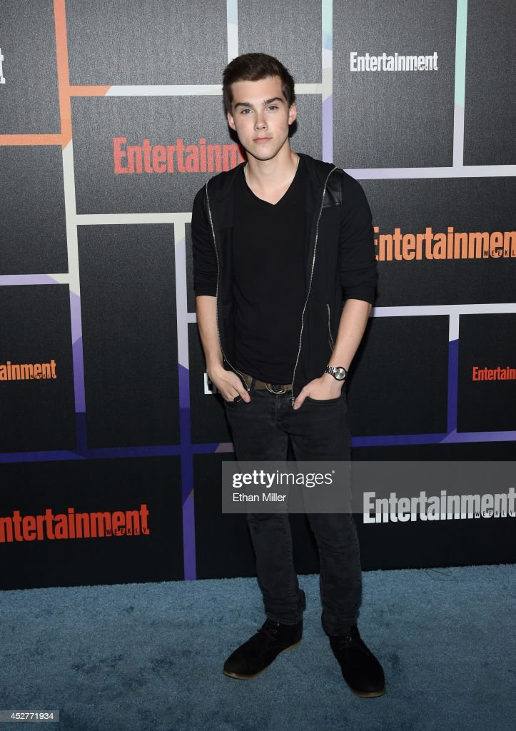 Actor Jeremy Shada attends Entertainment Weekly's annual Comic-Con celebration at Float at Hard Rock Hotel San Diego on July 26, 2014 in San Diego, California.