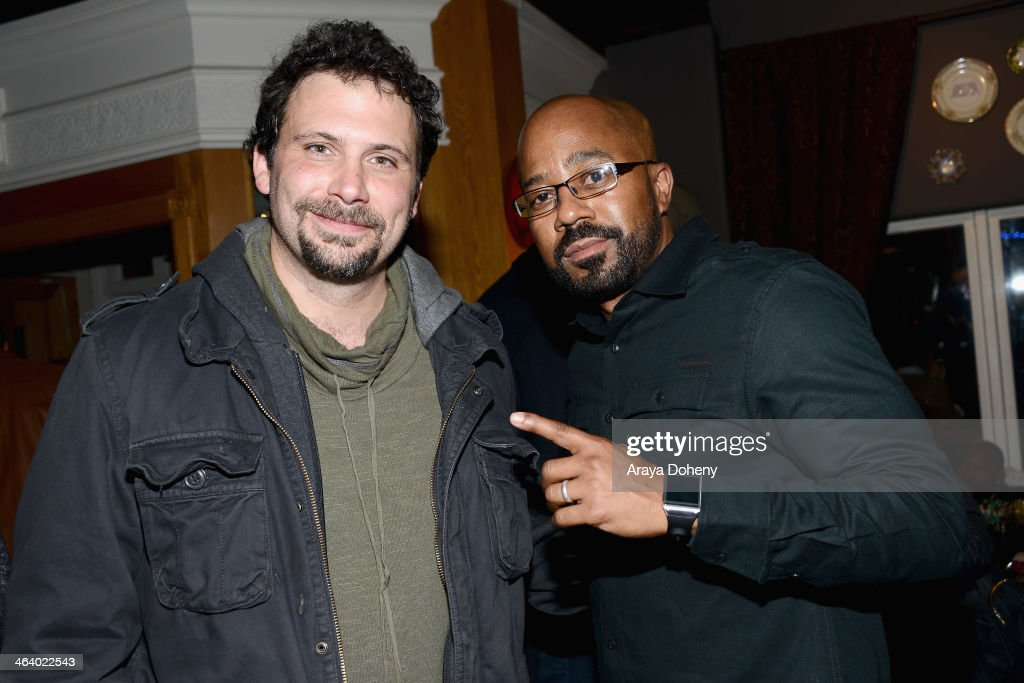 Actor Jeremy Sisto and Actor Inny Clemons attend The Annual MPIC Events Sundance Celebrity Charity Poker Tournament presented by Ketel One Vodka on...