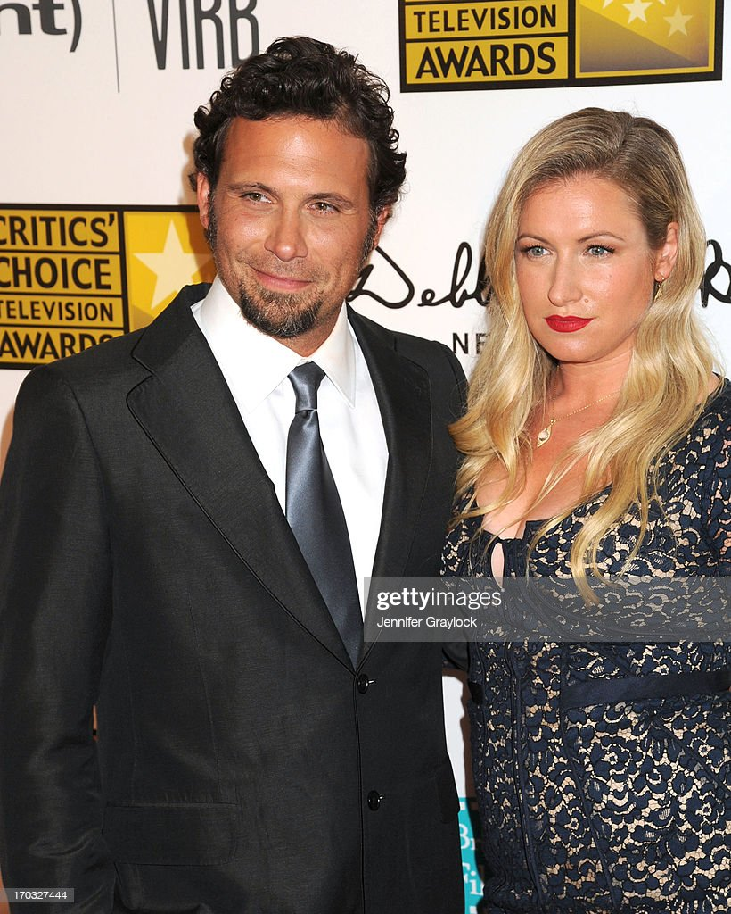 Actor Jeremy Sisto and Addie Lane attend the BTJA Critics' Choice Television Awards at The Beverly Hilton Hotel on June 10, 2013 in Beverly Hills, California.