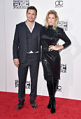 Actor Jeremy Sisto and Addie Laneattend the 2015 American Music Awards at Microsoft Theater on November 22 2015 in Los Angeles California