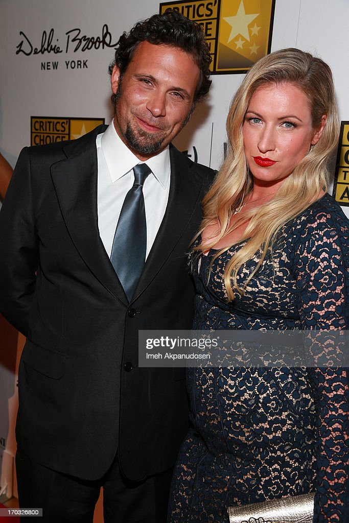 Actor Jeremy Sisto (L) and his wife, Addie Lane, attend the Critics' Choice Television Awards at The Beverly Hilton Hotel on June 10, 2013 in Beverly Hills, California.