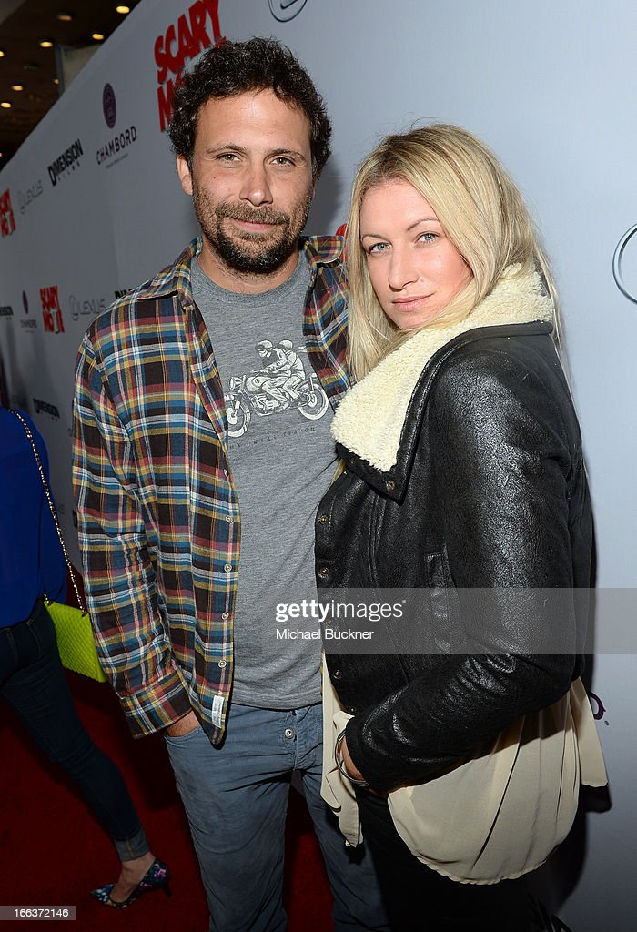 Actor Jeremy Sisto and wife Addie Lane arrive for the premiere of Dimension Films' 'Scary Movie 5' at ArcLight Cinemas Cinerama Dome on April 11, 2013 in Hollywood, California.
