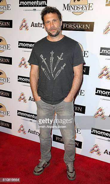 Actor Jeremy Sisto attends the screening of Momentum Pictures' 'Forsaken' at Autry Museum of the American West on February 16 2016 in Los Angeles...