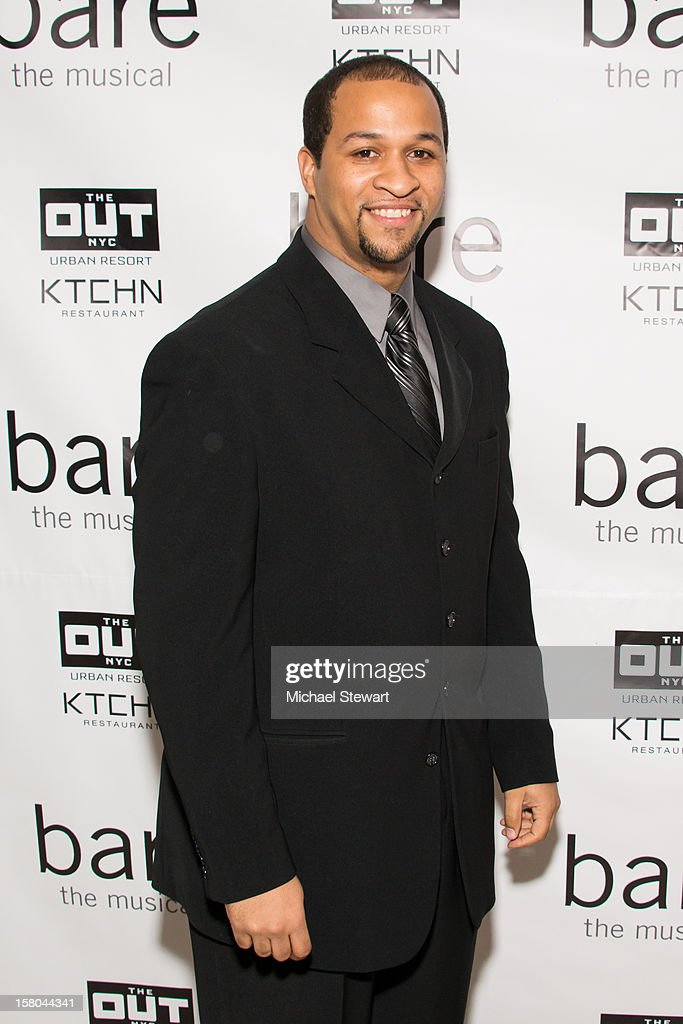 Actor Jerold E. Solomon attends 'BARE The Musical' Opening Night After Party at Out Hotel on December 9, 2012 in New York City.