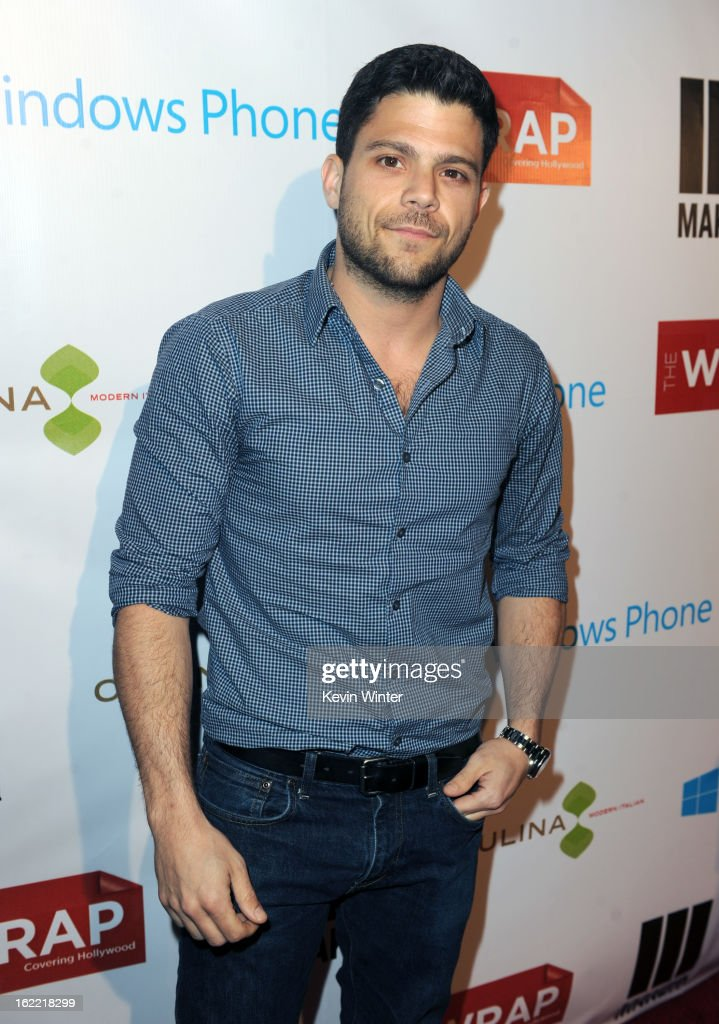 Actor <a gi-track='captionPersonalityLinkClicked' href=/galleries/search?phrase=Jerry+Ferrara&family=editorial&specificpeople=215494 ng-click='$event.stopPropagation()'>Jerry Ferrara</a> arrives at TheWrap 4th Annual Pre-Oscar Party at Four Seasons Hotel Los Angeles at Beverly Hills on February 20, 2013 in Beverly Hills, California.
