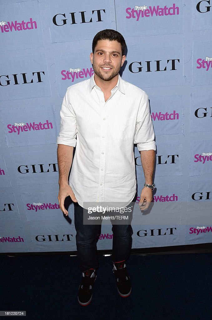 Actor Jerry Ferrara attends People StyleWatch Denim Awards presented by GILT at Palihouse on September 19, 2013 in West Hollywood, California.