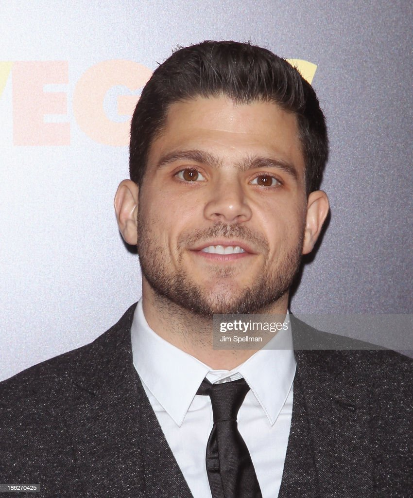 Actor <a gi-track='captionPersonalityLinkClicked' href=/galleries/search?phrase=Jerry+Ferrara&family=editorial&specificpeople=215494 ng-click='$event.stopPropagation()'>Jerry Ferrara</a> attends the 'Last Vegas' premiere at the Ziegfeld Theater on October 29, 2013 in New York City.