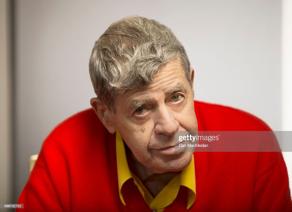 Actor Jerry Lewis is photographed for USA Today on August 25, 2016 in Los Angeles, California. PUBLISHED