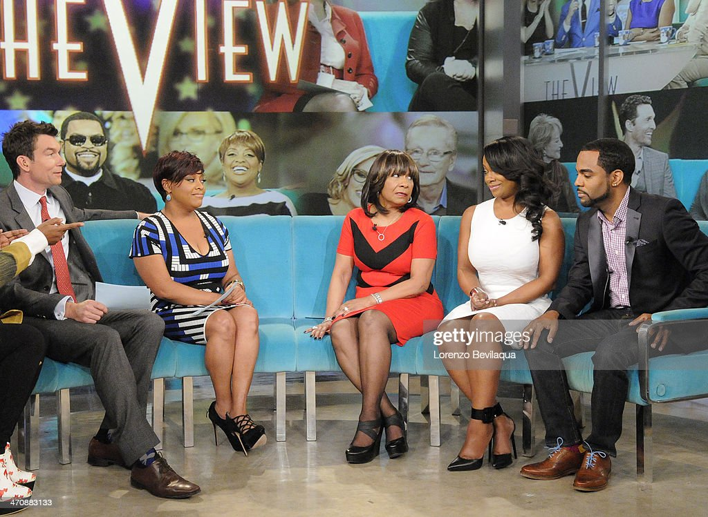 THE VIEW - Actor Jerry OConnell guest co-hosts; Gayle King, television personality and Editor at Large of O, The Oprah Magazine; Kandi Burruss, fiancé Todd Tucker and mother, Mama Joyce Jones (The Real Housewives of Atlanta) appear today, February 20, 2014 on ABC's 'The View.' 'The View' airs Monday-Friday (11:00 am-12:00 pm, ET) on the ABC Television Network. TUCKER