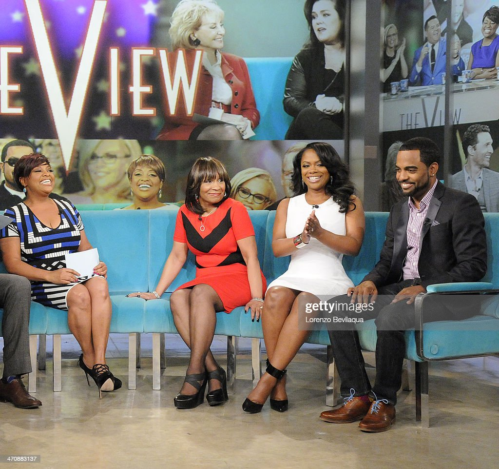 THE VIEW - Actor Jerry OConnell guest co-hosts; Gayle King, television personality and Editor at Large of O, The Oprah Magazine; Kandi Burruss, fiancé Todd Tucker and mother, Mama Joyce Jones (The Real Housewives of Atlanta) appear today, February 20, 2014 on ABC's 'The View.' 'The View' airs Monday-Friday (11:00 am-12:00 pm, ET) on the ABC Television Network. SHEPHERD, 'MAMA' JOYCE