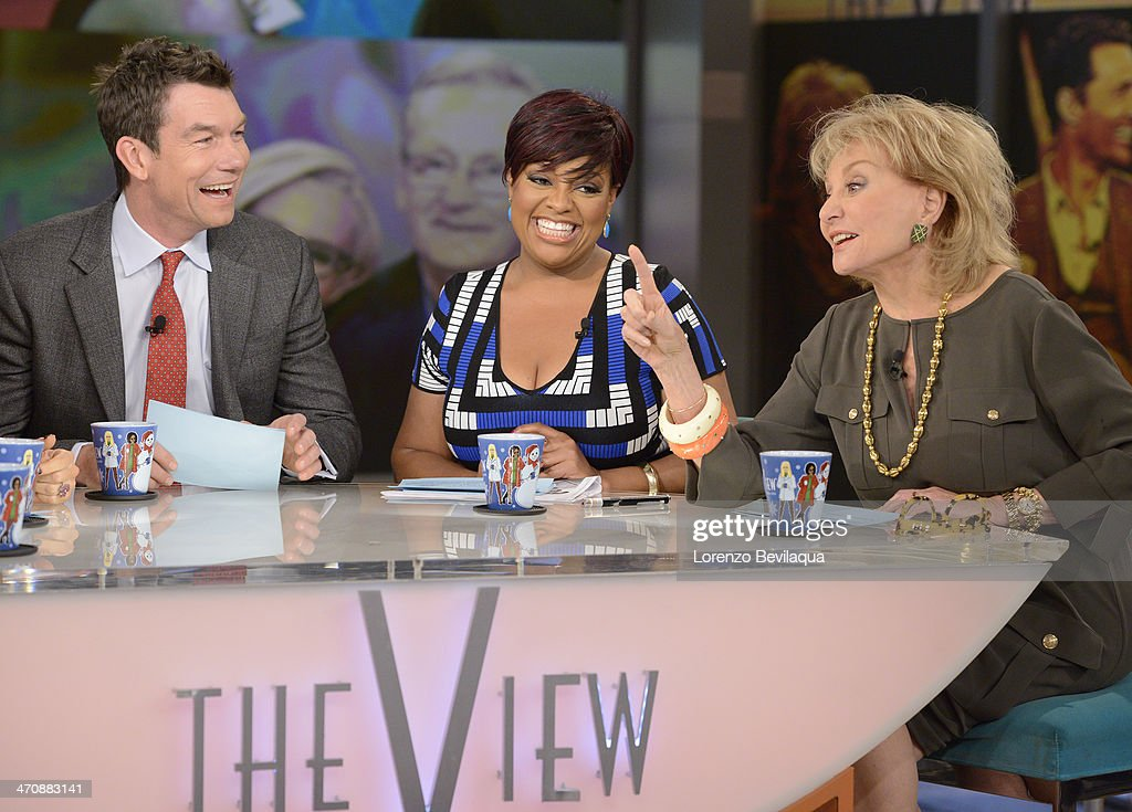 THE VIEW - Actor Jerry OConnell guest co-hosts; Gayle King, television personality and Editor at Large of O, The Oprah Magazine; Kandi Burruss, fiancé Todd Tucker and mother, Mama Joyce Jones (The Real Housewives of Atlanta) appear today, February 20, 2014 on ABC's 'The View.' 'The View' airs Monday-Friday (11:00 am-12:00 pm, ET) on the ABC Television Network. CONNELL, SHERRI