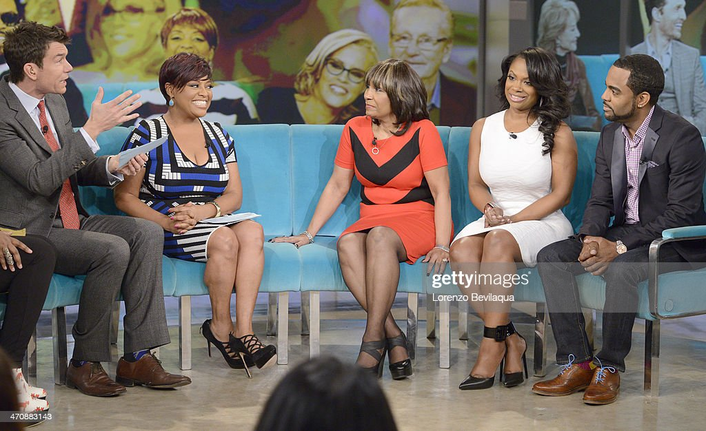 THE VIEW - Actor Jerry OConnell guest co-hosts; Gayle King, television personality and Editor at Large of O, The Oprah Magazine; Kandi Burruss, fiancé Todd Tucker and mother, Mama Joyce Jones (The Real Housewives of Atlanta) appear today, February 20, 2014 on ABC's 'The View.' 'The View' airs Monday-Friday (11:00 am-12:00 pm, ET) on the ABC Television Network. CONNELL, SHERRI SHEPHERD, 'MAMA' JOYCE
